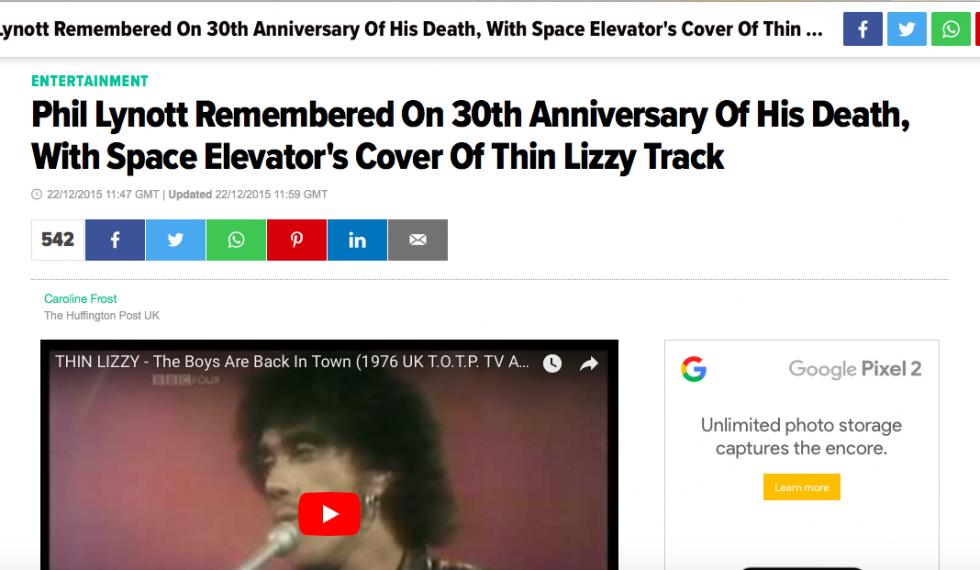 Huffington Post tell the world
